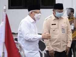 Ma'ruf Amin dan Wagub Jabar Tinjau Korban Banjir Subang dan Karawang