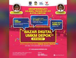 Pemkot Depok akan Gelar Bazar Digital UMKM