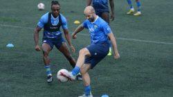 Mohammed Rashid Jalani Latihan Perdana dengan Persib Bandung